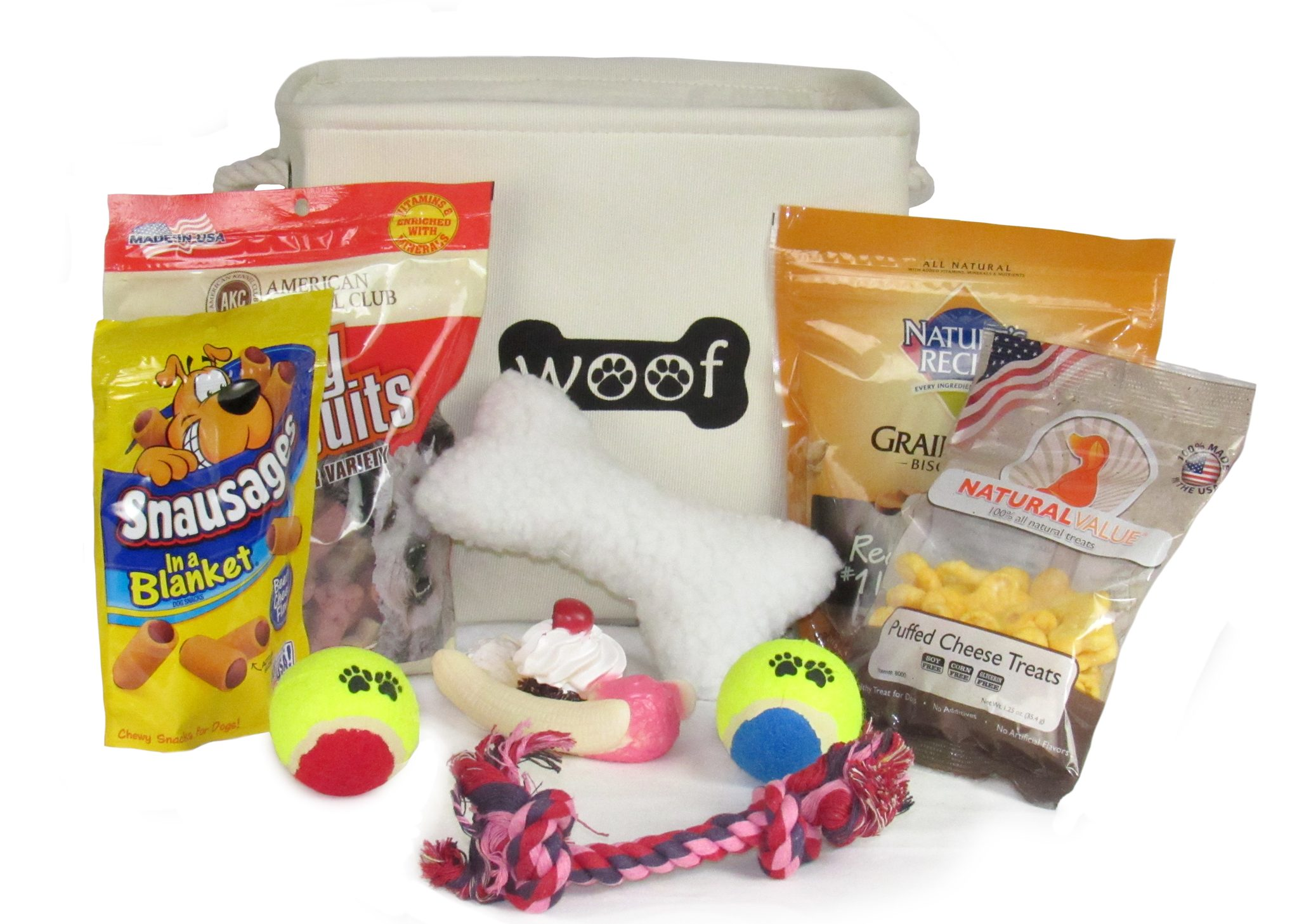 Toys and Treats Gift Basket