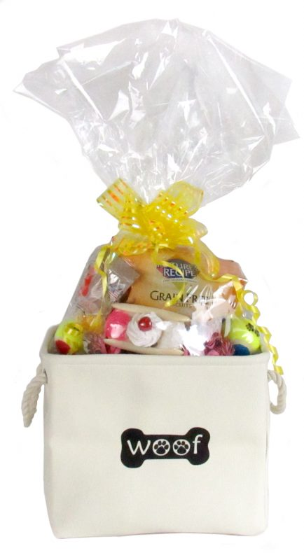 Toys and Treats Dog Gift Baskets