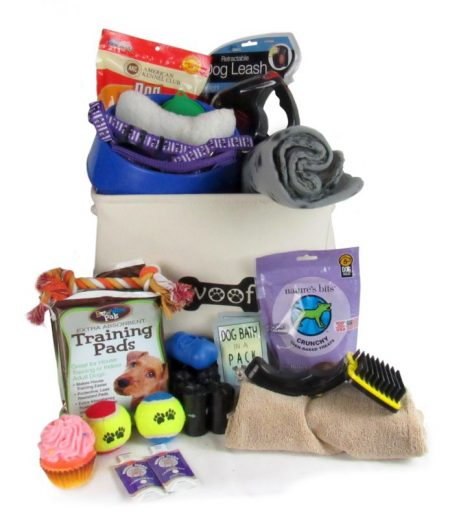 Brand New Puppy Gift Baskets