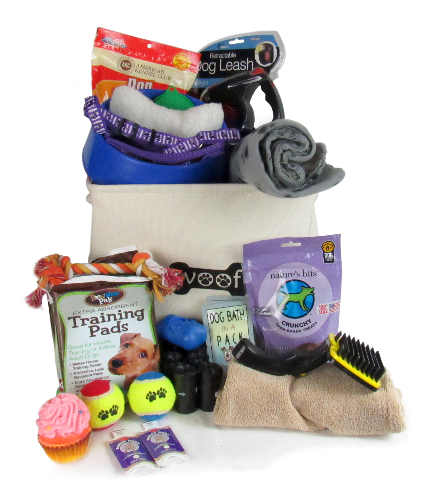 New Puppy Gift Baskets